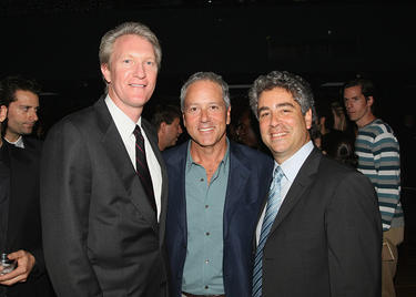 Chris McGurk, David Hoberman and Danny Rosett at the after party of the premiere of &quot;Traitor.&quot;